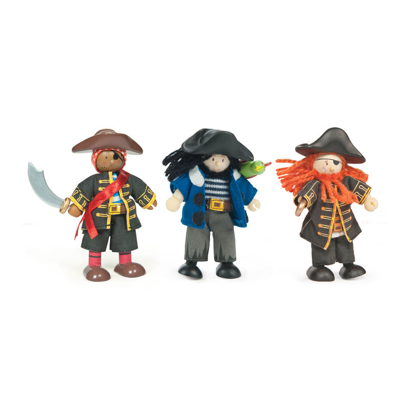Le Toy Van-Budkins Dolls-Buccaneers Triple Pack