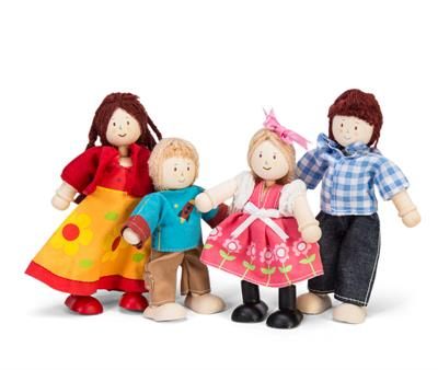 Le Toy Van Daisylane Doll Family