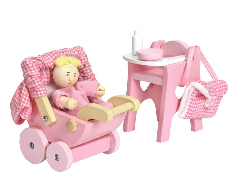 Le Toy Van Daisylane Nursery Set and Baby