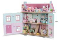 Le Toy Van Daisylane range shown in dolls house