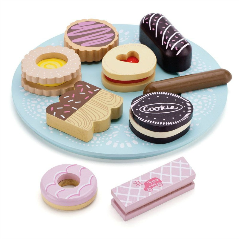 Le Toy Van Honeybake Biscuits and Plate Set