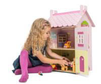 Le Toy Van- Kids Doll Houses- My First Dream House w/Furniture