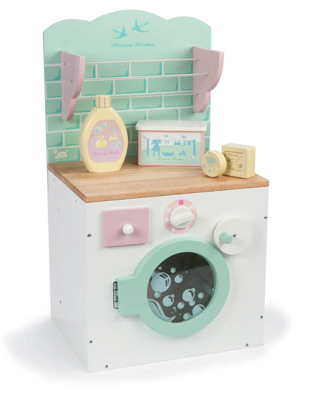 Le Toy Van- Kids Wooden Toys- Honey Home Washing Machine