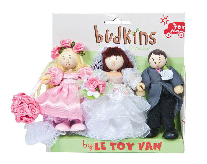 Le Toy Van Budkins Bridal Set