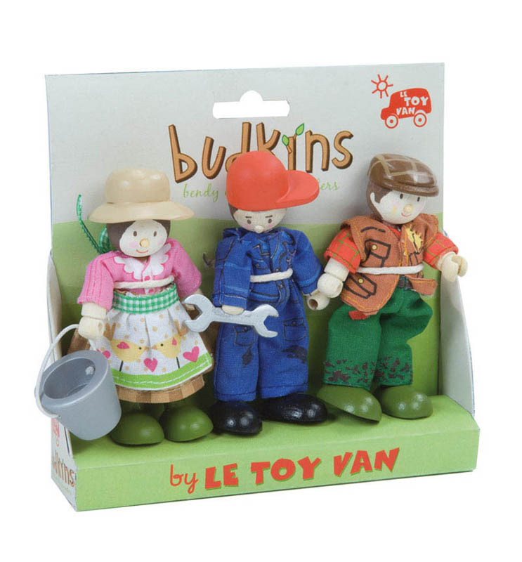 Budkins Farmers Set {Triple Pack}