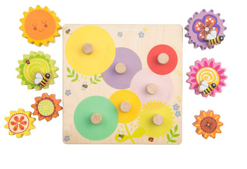 Le Toy Van - Petilou Gears and Cogs Busy Bee