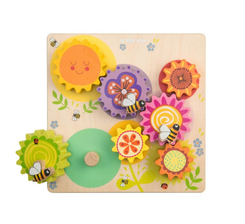 Le Toy Van Petilou Gears and Cogs Busy Bee