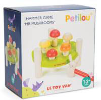 Petilou Hammer Game Mr Mushrooms
