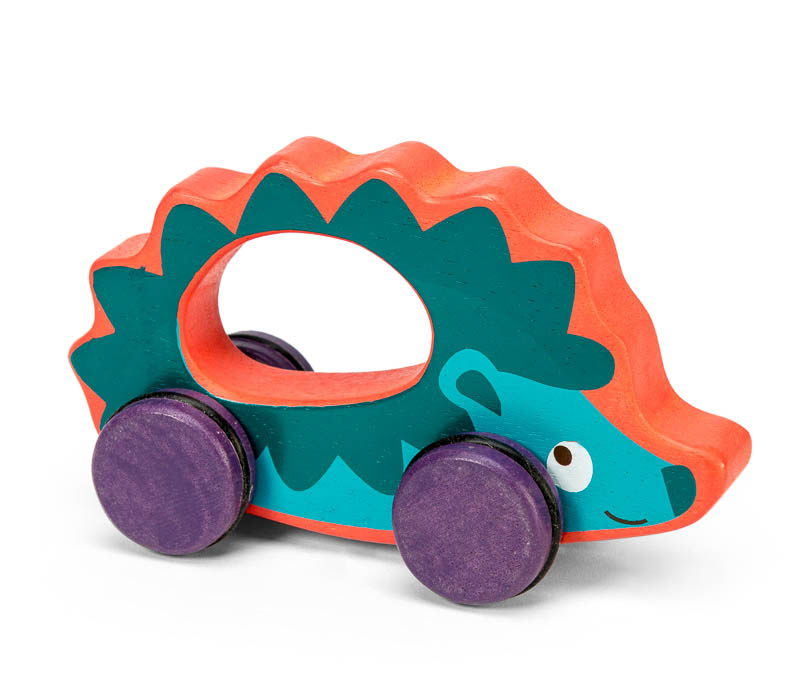 Le Toy Van Petilou Harrison Hedgehog on Wheels