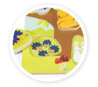 Le Toy Van - Petilou Mama-Baby Counting Puzzle