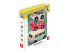 Le Toy Van-Retro Metro Car Set