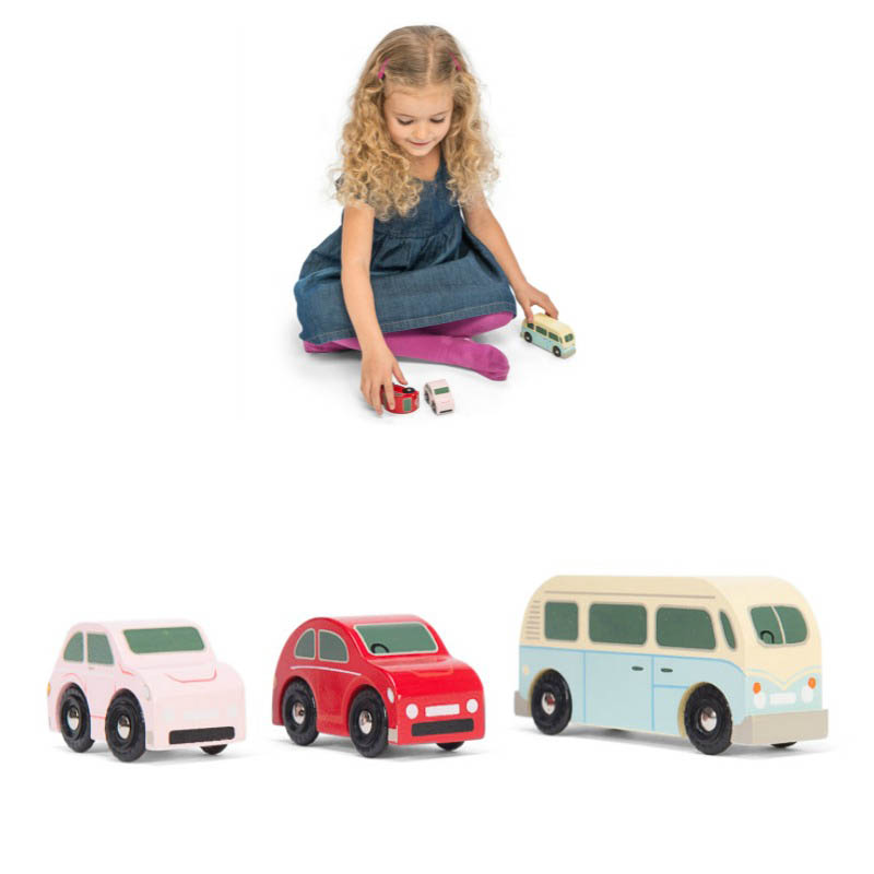 Le Toy Van Retro Metro Vehicles Set of 3