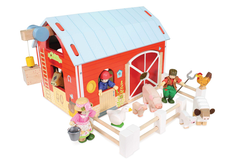Le Toy Van The Red Barn (accessories sold separately)