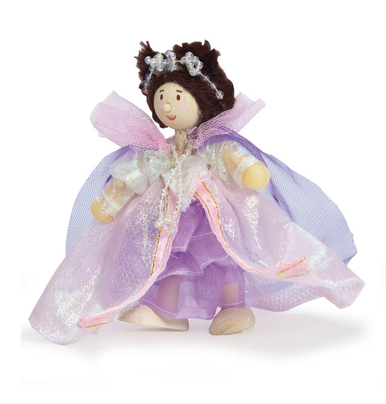 Le Toy Van-Wooden Dolls-Budkins Queen Alice