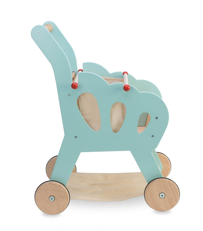 Le Toy Van-Wooden Play Food - Shopping Trolley