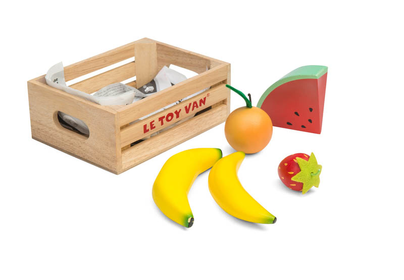 Le Toy Van-Wooden Play Food- Smoothie Fruits Crate