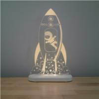 Aloka - LED Night Light - Rocket
