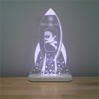 Aloka LED Sleepy Light Rocket