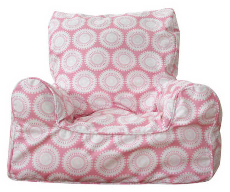 Lelbys-Kids Bean Bags-Bean Chair{Pink Freckles}