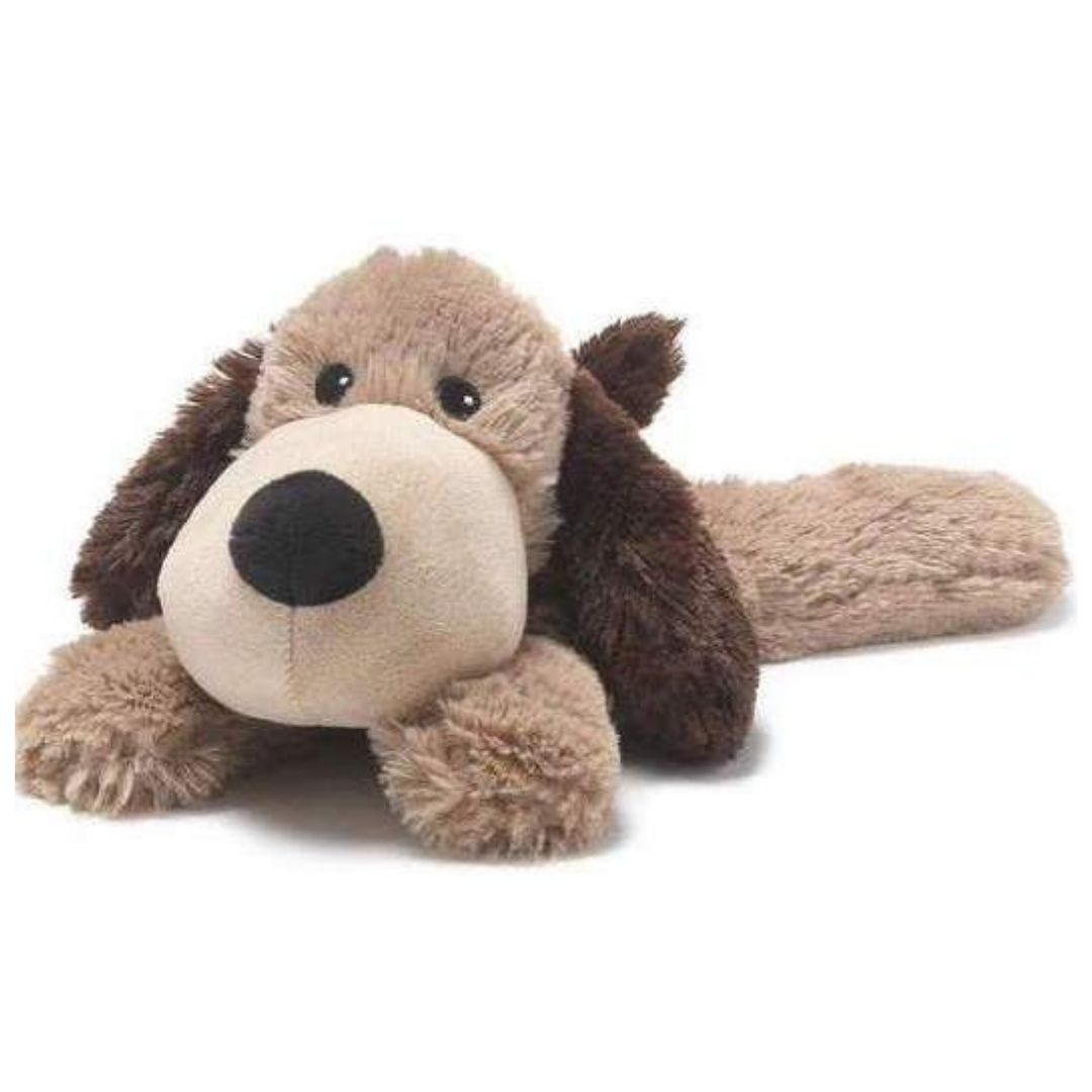 Light Brown Puppy Microwavable Soft Toy