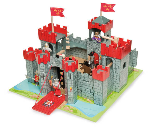 Le Toy Van- Pretend Play- Lionheart Castle