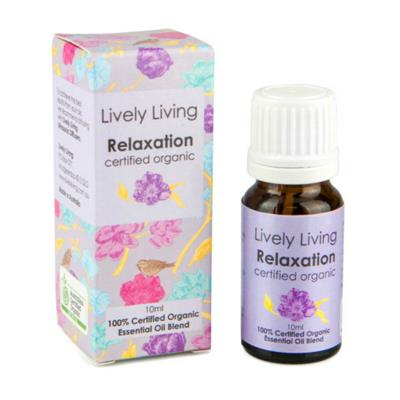 Lively Living 100% Certified Organic Essential Oil Relaxation Blend