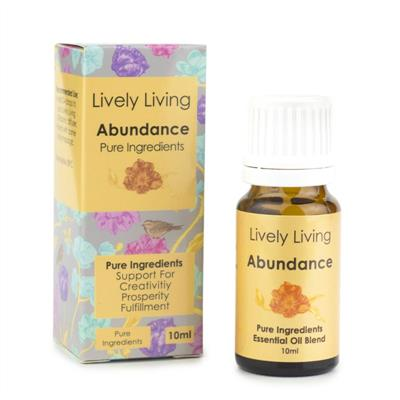 Lively Living 100% Pure Essential Oil Abundance