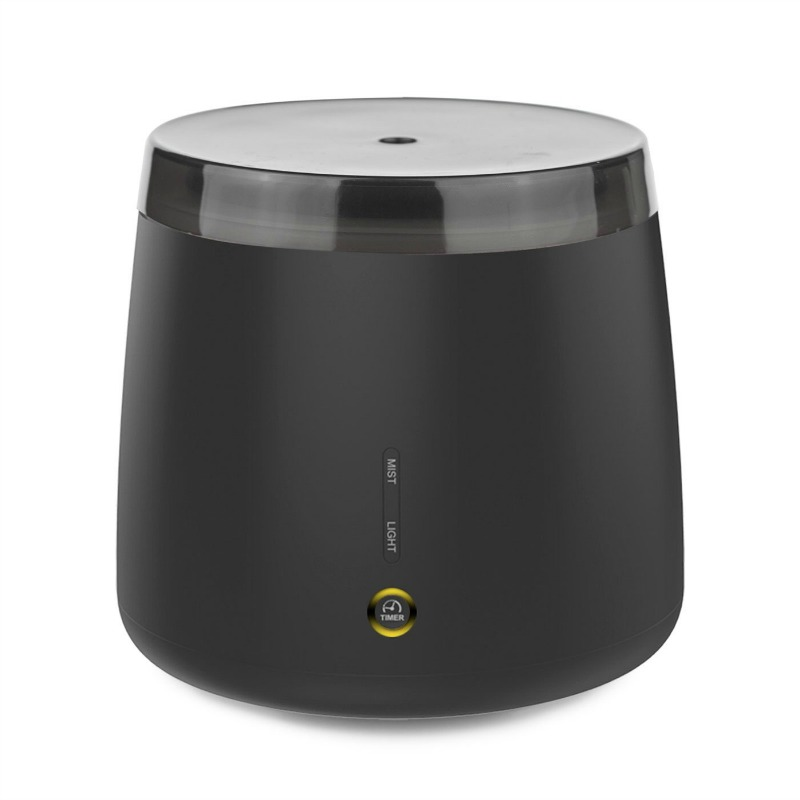 Lively living Aroma Elm Ultrasonic Vaporiser Matt Black