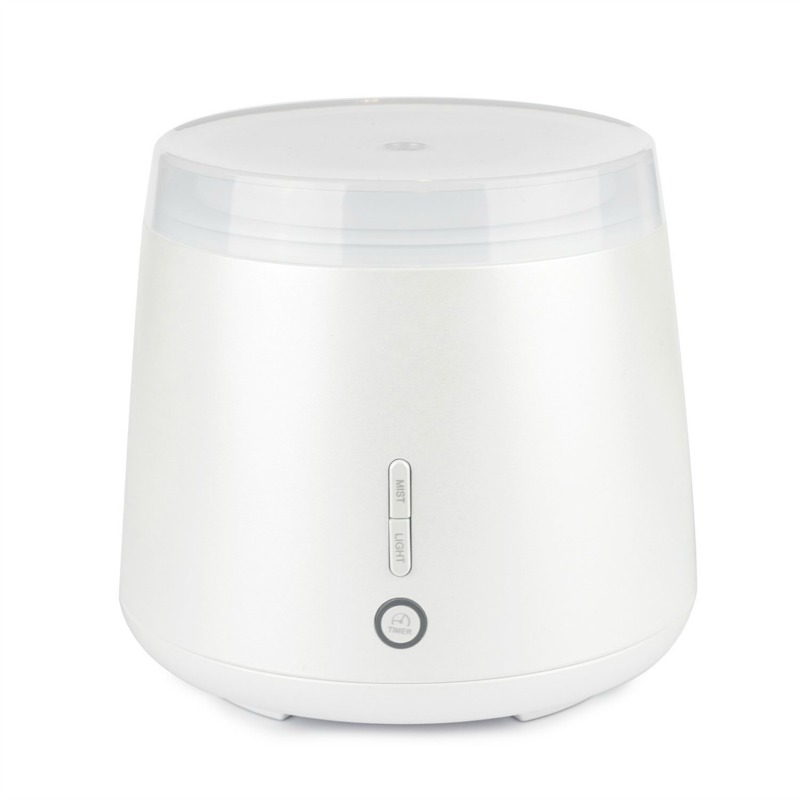 Lively living Aroma Elm Ultrasonic Vaporiser Metallic White