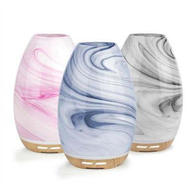 Lively Living Aroma Swirl Glass Ultrasonic Vaporiser