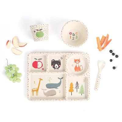 Love Mae Divided Plate Set ABC