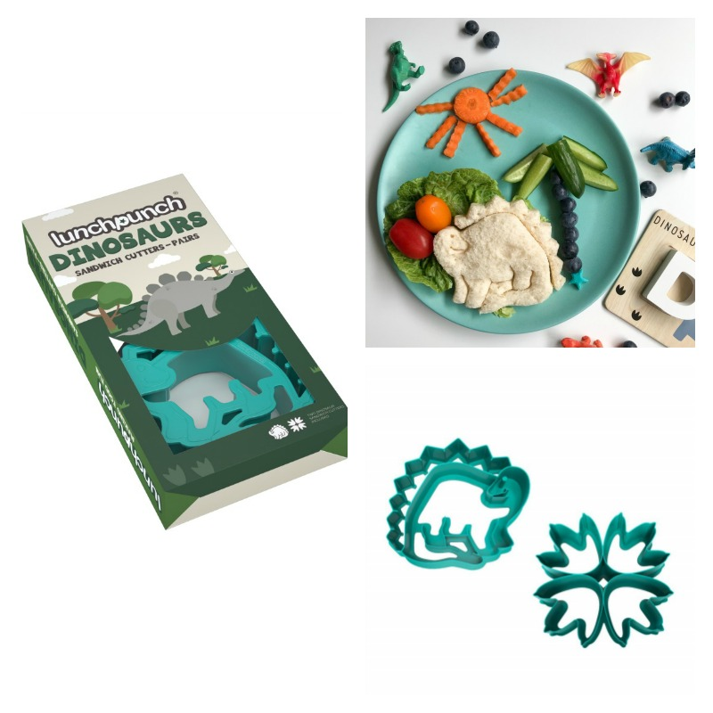 Lunch Punch Dinosaur Sandwich Cutters 2pk