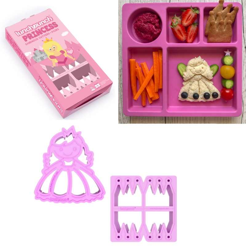 lunch punch princess sandwich cutters