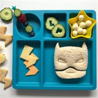 Lunch Punch Superhero Sandwich Cutters 2pk