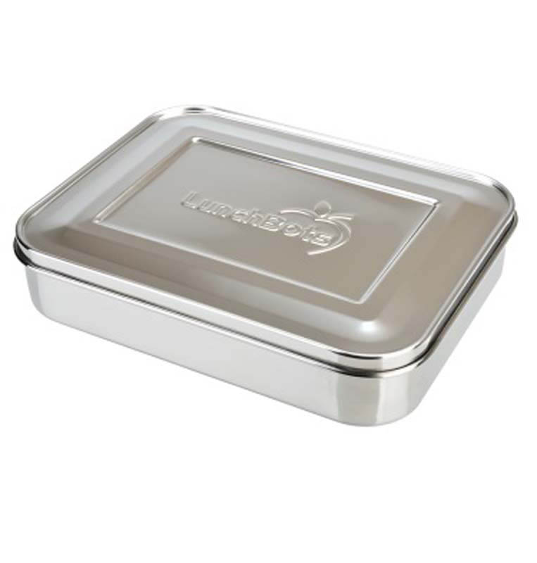 LunchBots Classic Trio - All Stainless Steel Lunch Box Container