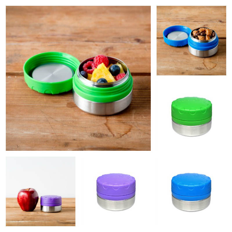 LunchBots Round Single 115ml/4oz Container