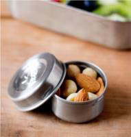 Lunchbots Stainless Steel Dips Condiment Containers - Set of 3