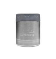 LunchBots Thermal Stainless Steel Insulated Food Jar - 235ml/8oz grey