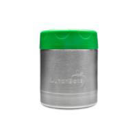 LunchBots Thermal Stainless Steel Insulated Food Jar - 235ml/8oz green