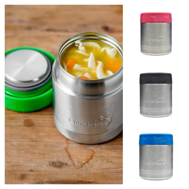 LunchBots Thermal Stainless Steel Insulated Food Jar - 235ml/8oz