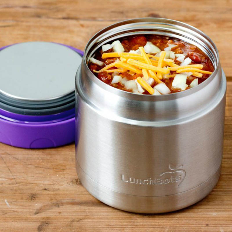 LunchBots Thermal Stainless Steel Insulated Food Jar - 470ml/16oz