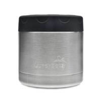LunchBots Thermal Stainless Steel Insulated Food Jar - 470ml/16oz Black