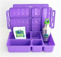 Purple Go Green Lunch Box