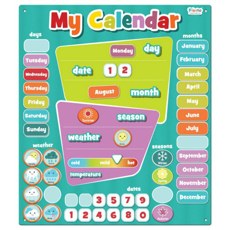 Magnetic My Calendar-Large