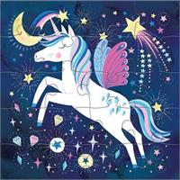Magnetic Jigsaw puzzle Unicorn