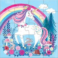 Unicorn Magnetic Jigsaw puzzle
