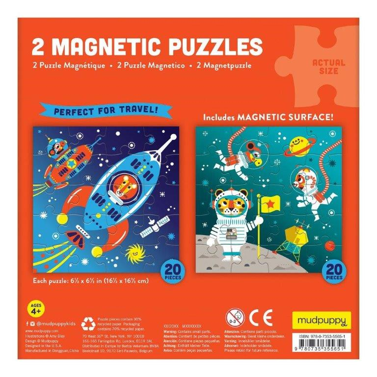 Magnetic Puzzle Space