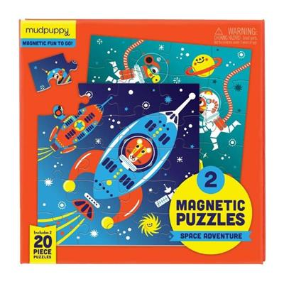 Magnetic Puzzle Space Adventures