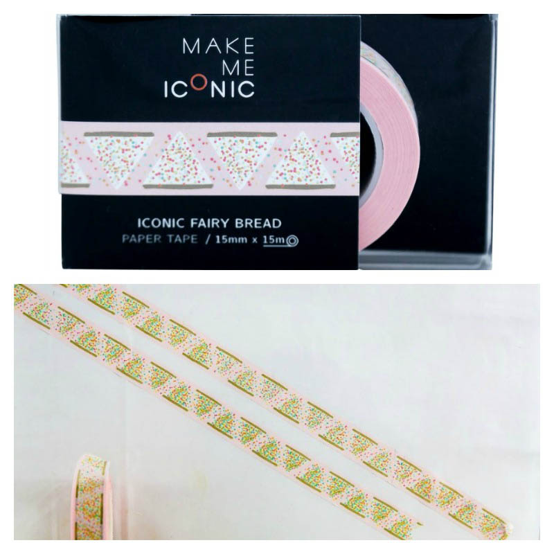 Make Me Iconic - Fun Tape - Fairybread