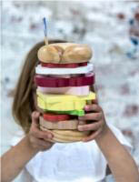 Make Me Iconic - Stacking Burger